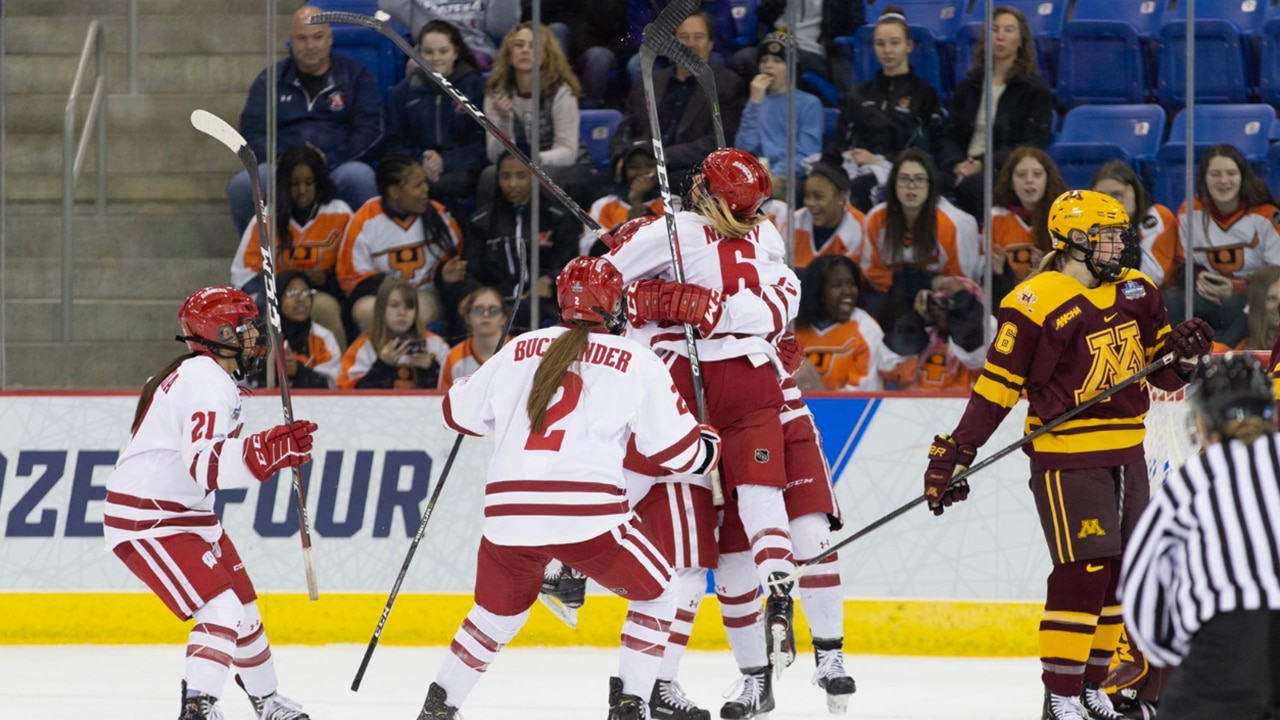 Wisconsin Earns 5th Women S Ice Hockey National Title Ncaa Com